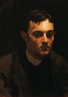 """19thcenturyboyfriend: """" Portrait of Albert de Belleroche, John Singer Sargent """""""