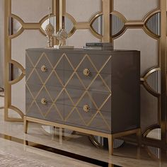 Italian Designer Lacquered Art Deco Inspired Chest of Drawers at Juliettes Interiors, the finest collection of Designer Italian Furniture. Art Deco Living Room, Room Deco, Art Deco Bedroom, Modern Bedroom, Italian Furniture, Luxury Furniture, Wallpaper Art Deco, Salon Art Deco, Muebles Art Deco