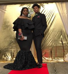 These 20 Black Prom-goers KILLED The Prom Fashion Game Source by nadia_by_annan dresses black girls slay plus size Plus Prom Dresses, Prom Dresses With Sleeves, Black Prom Dresses, Homecoming Dresses, Plus Size Dresses, Girls Dresses, Dresses Uk, Evening Dresses, Prom Goals