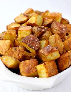Mustard Roasted Potatoes are perfect as a side to burgers, chicken or practically and meal!