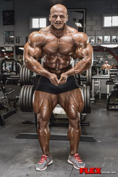 "Mamdouh ""Big Ramy"" Elssbiay after the 2014 New York Pro"