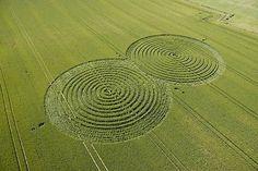 Crop circle  A mystery....