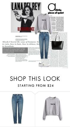 """""""Sm:)e"""" by kinga167 ❤ liked on Polyvore featuring Topshop, Lacoste and Yves Saint Laurent"""