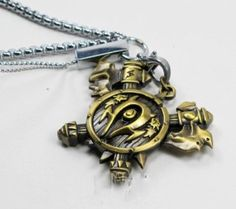 Tanboo World of Warcraft Horde Orc Keychain Badges Pendant Game Jewelry,with Tanboo Card and Gift Box Arthas Menethil, Lich King, For The Horde, Gamer Gifts, Starcraft, World Of Warcraft, To My Daughter, Pendant Jewelry, Pocket Watch