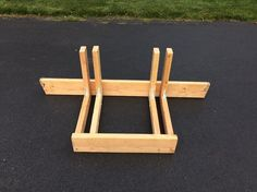 Wooden bike rack for truck bed 41 ideas for 2019 Wood Bike Rack, Truck Bed Bike Rack, Diy Bike Rack, Bicycle Storage, Bicycle Rack, Bike Racks For Trucks, Bike Stand Diy, Bicycle Stand, Bike Stands