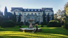 Domingo sin preocupaciones   #palaciosanssouci #victoria #likezonanorte #neoclassical #architecture #french #sanfernando #buenosaires #sunday #winter #picoftheday #igers #visitaguiada #garden