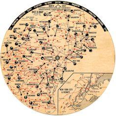 map wheel