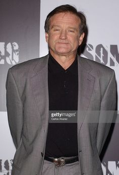 Actor Robin Williams promotes his new movie 'Insomnia' October 9, 2002 at Hotel Palace in Madrid, Spain.