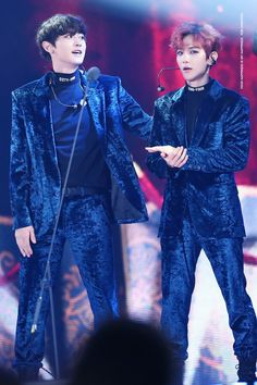 Baekyeol otherwise know as the tol and the smol