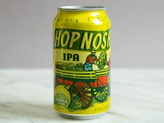 Uinta Brewing Company Hop Nosh IPA You shouldn't drink your IPAs ice cold, and this beer shows why: as it warms, complex stone fruit flavors come out, like a spoonful of peaches atop the biscuity malt base. That malty side is balanced with piney hops and a touch of spice. With its refreshing finish, this is an easy drinker for a 7.3% ABV beer