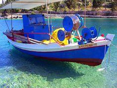 botes y mas-Paxos island, Ionian Sea, Greece