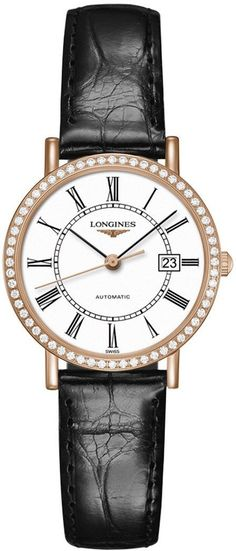 @longineswatches Elegant Collection #add-content #bezel-diamond #bracelet-strap-alligator #brand-longines #case-material-rose-gold #case-width-29mm #date-yes #delivery-timescale-1-2-weeks #dial-colour-white #gender-ladies #l42879110 #luxury #movement-automatic #official-stockist-for-longines-watches #packaging-longines-watch-packaging #style-dress #subcat-elegant #supplier-model-no-l4-287-9-11-0 #warranty-longines-official-2-year-guarantee #water-resistant-30m