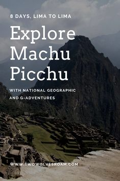 Explore ancient ruins off the beaten path in the Sacred Valley with our expert guide, take in mountain views on the scenic train to Machu Picchu, enjoy traditional treats and foods The Eighth Day, G Adventures, Ancient Ruins, South America Travel, Travel Tours, Machu Picchu, Mountain View, National Geographic, Peru