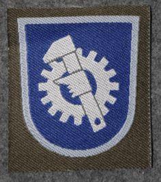 Finnish sleeve patch, mechanic M/91