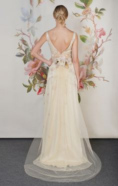 Gorgeous back detail on Primrose from Claire Pettibone's New Decoupage Collection