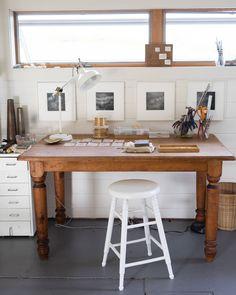 Mary MacGill's Minimal, Bright Jewelry Making Studio