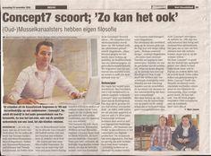 2010. Onze drie eigenaren komen allemaal uit Musselkanaal (ZO Groningen) en omstreken. En kijk eens wat er in de lokale krant staat ;-)