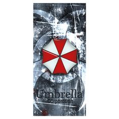 Resident Evil  Umbrella Background Printed Soft Bamboo Fiber Sport Drying Washcloth&Bath Towels for Adults_Size:35CMX70CM