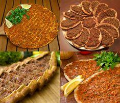 طريقة عمل لحم بعجين (الصفيحة)