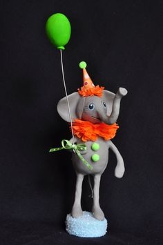 Circus birthday cake topper  {Etsy - A Piece of Lisa}