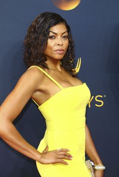 No fussy updo for Taraji P. Henson at the Emmys. The 'Empire' star flaunted soft, enviable waves that you can actually achieve at home. Find out what eco-conscious products she used to get this look.