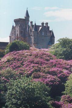 Glengorm Castle, Isle of Mull, Inner Hebrides