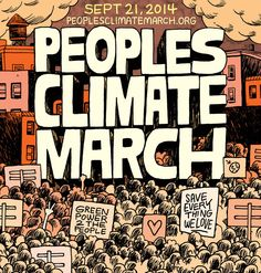Untitled. Artist: Travis Millard.  Finalist Climate March Poster Design Contest. http://www.climatedesigns.org