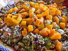 Autumn Vegan Salad -Quinoa, Yams, Cranberries & More! | What's Cooking? Healthy Cooking Blog by Lola Dee-Lite