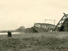 Lata 1940-1941 , Zniszczony most Fordoński.