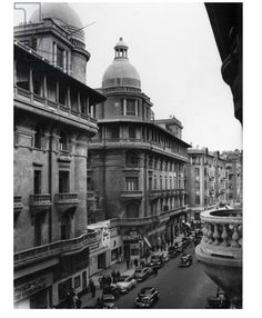 Down town Cairo Life In Egypt, Tahrir Square, Visit Egypt, Colonial Architecture, Cool Photos, Interesting Photos, North Africa, Vintage Pictures, Alexandria