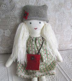 Ragdoll fabric cloth doll by Mayflair on Etsy