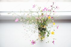 Bouquet of wild flowers. by EkaterinaPlanina on @creativemarket