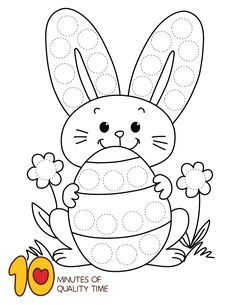 Luxurious Easter Do a Dot Exercise Incredible Easter Do a Dot ExerciseYou can find Exercise and more on our website.Luxurious Easter Do a Dot Exercise Incredible Easter Do a Dot Exercise Easter Activities For Toddlers, Easter Crafts For Kids, Preschool Activities, Illustration Tutorial, Do A Dot, Easter Colouring, Diy Ostern, Easter Projects, Easter Art