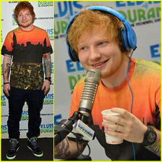 """Ed Sheeran freestyles """"Hit me baby one more time."""" (click for video)"""