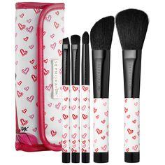 SEPHORA COLLECTION Je T'aime IZAK Brush Set #Sephora #ValentinesDay #gifts