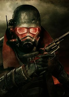 Dystopian Post-Apocalyptic Mecha Nomad Futuristic for cosplay ideas  Fallout: New Vegas