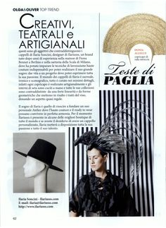 Olga & Oliver Italy - June 2015 - Turban by DONIA ALLEGUE www.doniaallegue.com