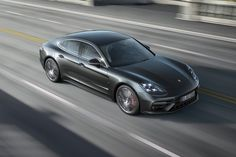 The 2017 Porsche Panamera marks the second-generation of the sedan, which debuts with new engines, technology from the 918 Spyder, and sharper styling.