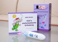 OLAF: Ein Nasensauger mit passendem Bilderbuch   mamour