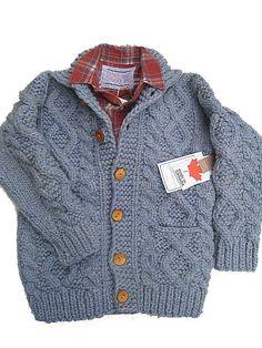 KANATA Cowichan Sweater   [Super Fine Melino]