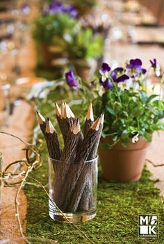 Gorgeous nature inspired centerpiece idea {Michael Bennett Kress and Associates} Green Colour Palette, Green Colors, Green Party, Spring Green, Bar Mitzvah, Event Venues, Party Planning, How To Plan, Nature Inspired