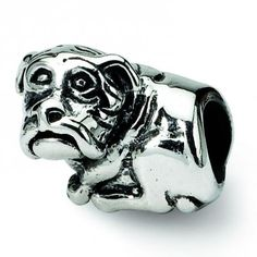 Sterling Silver Reflections Dog Bead