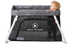 guava family everywhere travel crib. folds up into a backpack holder that can be a carry on. only 11lbs!!