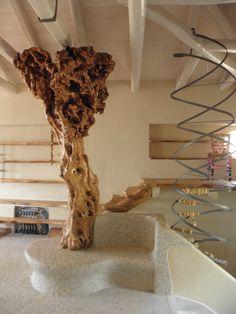 olive tree - handmade construction