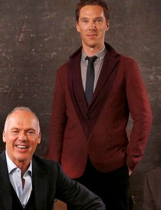 with Michael Keaton