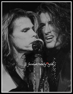 THE TOXIC TWINS .... STEVEN TYLER AND JOE PERRY    FACEBOOK/TOTALLY TYLER