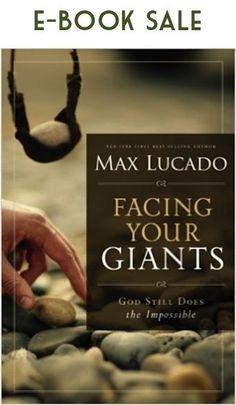 Max Lucado - Facing Your Giants eBook Sale: $2.99!