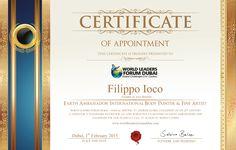 Certificate - Filipp