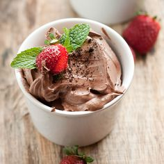 Avocado Chocolate Mousse #Recipe: Get your healthy chocolate fix, plus doses of…