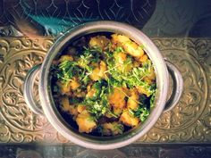 Sav's Kitchen: Dry Aloo Sabzi